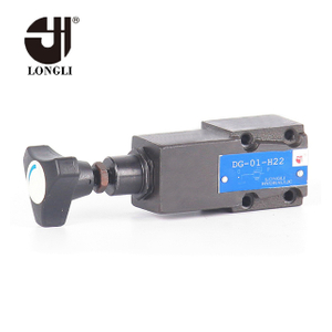 DG DT-01 hydraulic Yuken pressure relief adjustable pilot operated valve