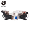 LL12-244 Hydraulic Solenoid Stacking Transition Manifold Block