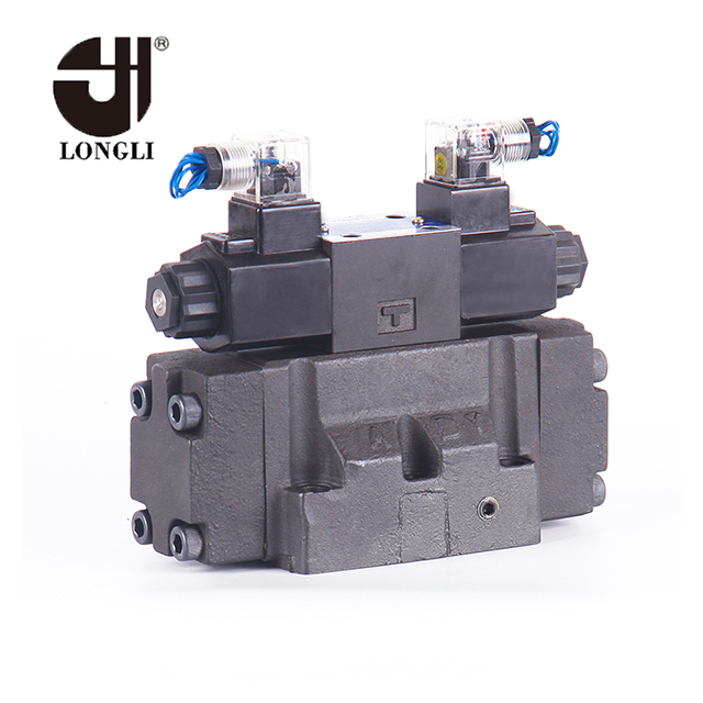 DSHG-04 hydraulic Yuken pilot operated spool type directional control valve