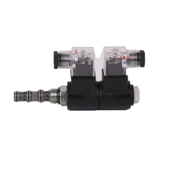 SV08-34M Spool-Type, 4-Way, 3-Position, Solenoid-Operated Cartridge Valve