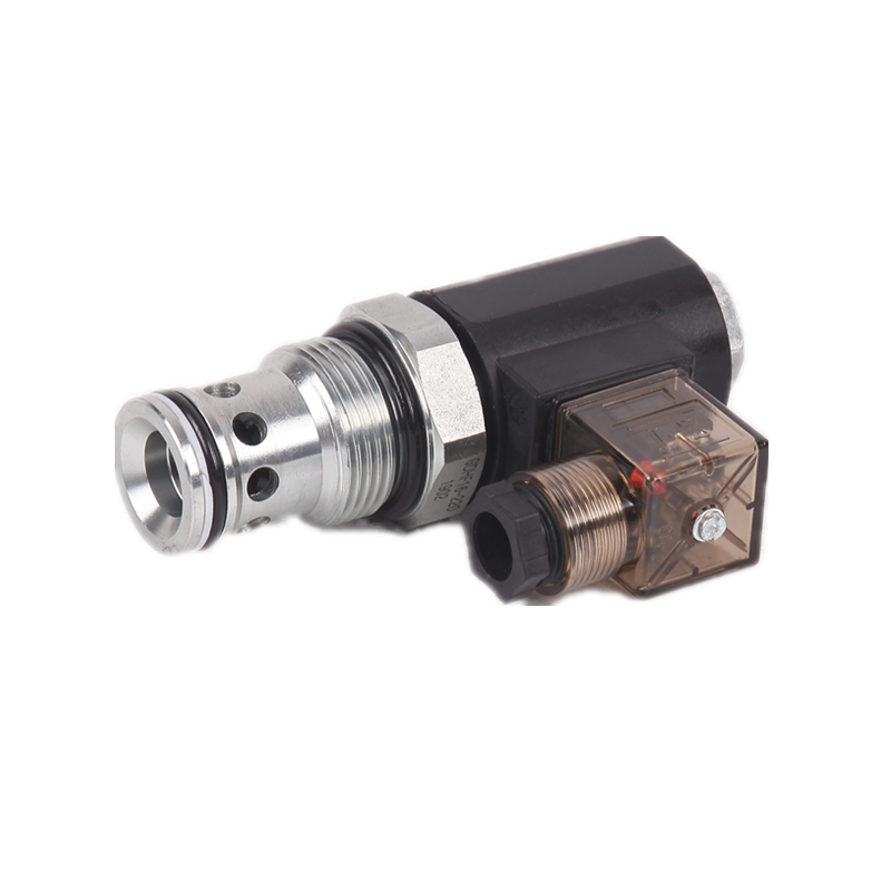 SV16-223 solenoid-operated, 2-way, normally open, poppet-type, screw-in hydraulic cartridge valve