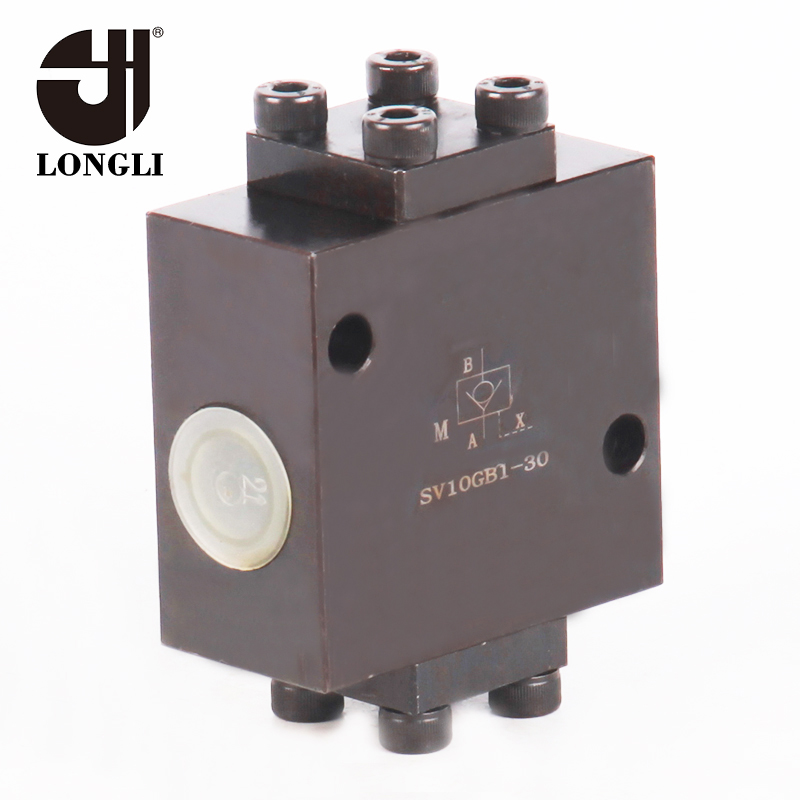 SV10GB Hydraulic Press Rexroth Type High Pressure Pilot Operated Check Valve with Low Price